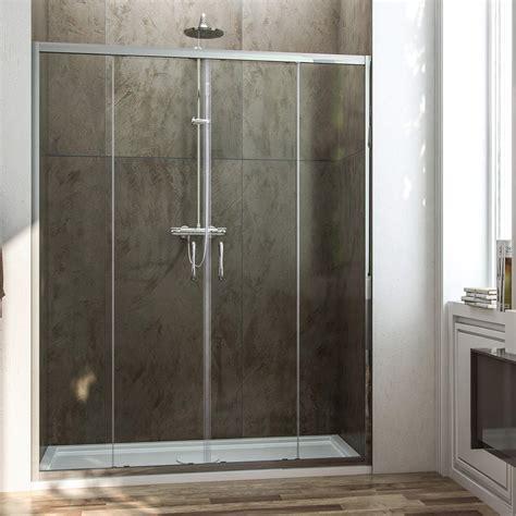 porta scorrevole doccia porta doccia con due ante scorrevoli per nicchia h 185 198