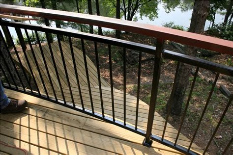 Design For Metal Deck Railings Ideas with Luxury Metal Deck Railing Ideas Doherty House Strong Metal Deck Railing Ideas For Modern