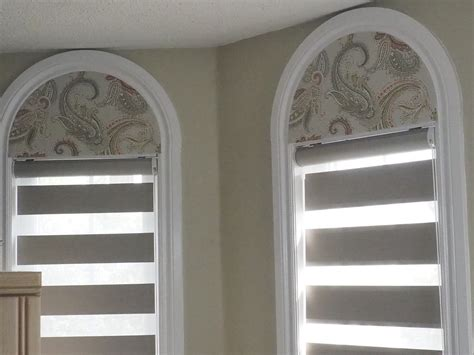 arch window blinds trendy blinds - Arch Window Coverings