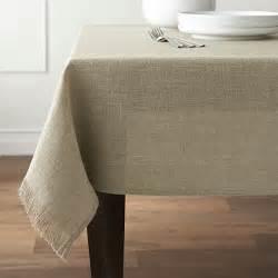 beckett tablecloth crate and barrel