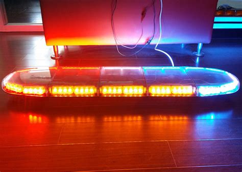 led light bars vehicle emergency warning lights