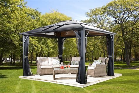 hardtop patio gazebo hardtop gazebos best 2018 choices sorted by size