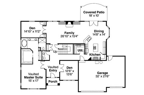 classic home floor plans home plan