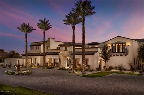 santa barbara style homes santa barbara style home in paradise valley phoenix 2