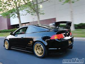 2004 Acura Type S 2004 Acura Rsx Type S All The Right Cues Modified Magazine