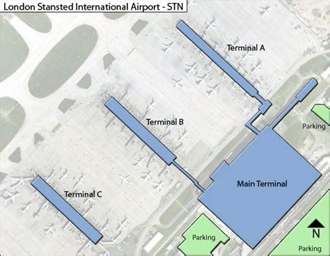 Stansted Airport Floor Plan london stansted stn airport terminal map