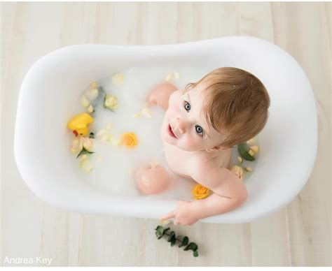 baby bathtub photo prop milk bath in tub prop baby photography pinterest