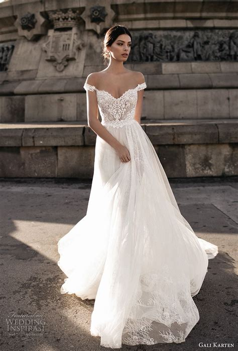 brautkleid halblang gali karten 2017 wedding dresses barcelona bridal