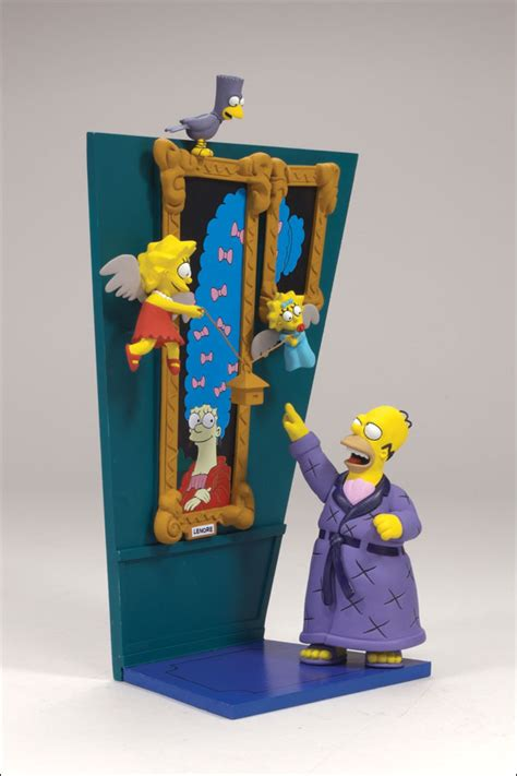 simpsons treehouse of horror figures simpsons figures simpsons toys calendar