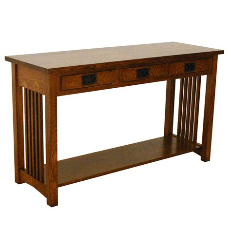 American Mission Sofa Table San Luis Traditions Table For Sofa