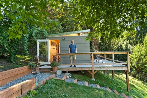Modern Shed Seattle by Beacon Hill Seattle Wa Guest Home Modern Garage And