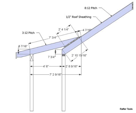 roof framing geometry rafter tools roof framing geometry dormer shed roof rafter calculator