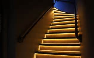 Led Light Strips For Stairs 7 Led Light Ideas To Lighten Up Your Home