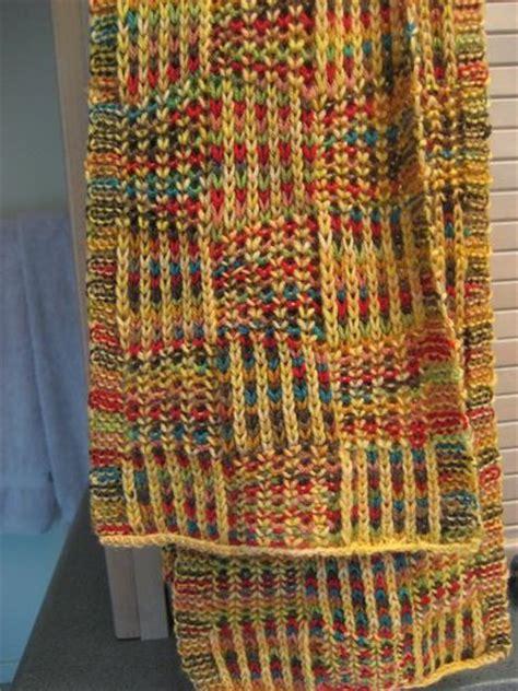 knitting pattern checkerboard scarf checkerboard scarf knitting patterns and crochet