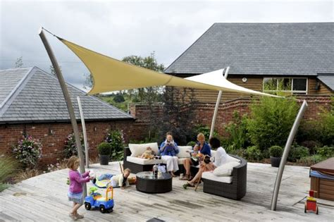 Sail Awnings Canopies by Bespoke Tensile Fabric Garden Structure The Roller In Monmouth Tensile Solutions S News