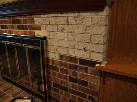 Painting Brick by Painting A Brick Fireplace With Chalk Paint 174 Crafts