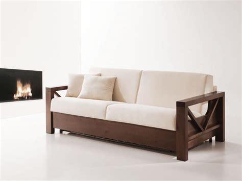 divani letto in legno divano letto in legno trasformabile per salotti idfdesign