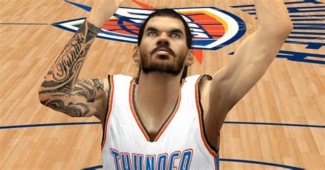 steven adams tattoo steven cyberface w hd for 2k14 nba 2k