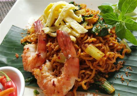 Mie Instan Goreng Sehat Sawi detikfood kabar kuliner resep rekomendasi tempat makan