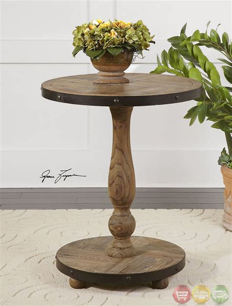 solid wood accent tables kumberlin weathered solid wood accent table 24268