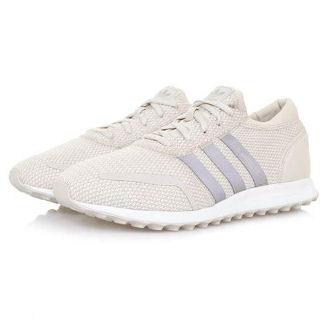 adidas originals los angeles brown beige trainers