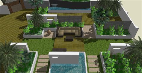 backyard blueprint maker perspective landscape 3 benedict green garden design