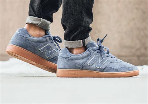 Sepatu Sneakers New Balance Ct 288 new balance ct 288 bg suede blue aster gum daim bleu