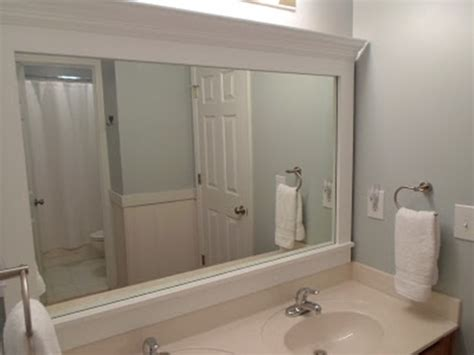 bathroom mirror with frame 10 diy ideas for how to frame that basic bathroom mirror