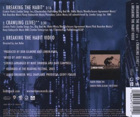 breaking the habit linkin park breaking the habit music video