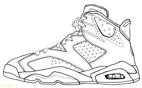 basketball sneakers coloring page basketball shoes coloring pages leversetdujourfo free