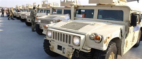 unarmored humvee la tunisie recevra 28 v 233 hicules de guerre de la part des