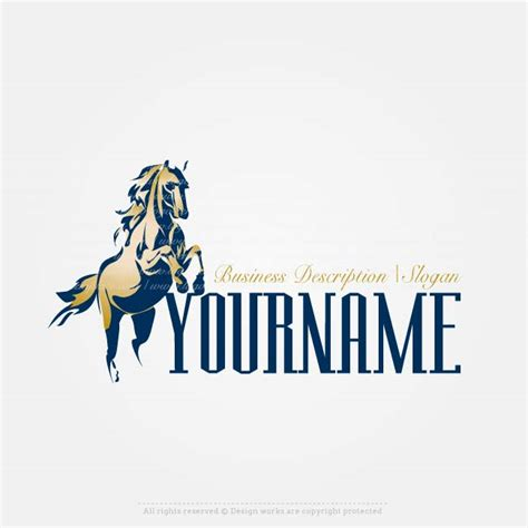 design logo horse create a logo template horse logo design