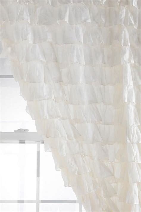 white ruffle shower curtain urban outfitters 78 best frilly frilly piccadilly images on pinterest