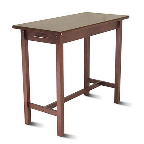 kitchen island table with two drawers walmart