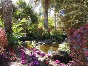 Pinellas Botanical Gardens Tropical Garden Courtyard Photos