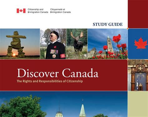my picture book canada changes in discover canada study guide for canadian
