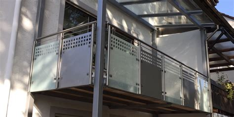 balkongeländer in edelstahl aussen gel 228 nder balkongel 195 164 nder 251