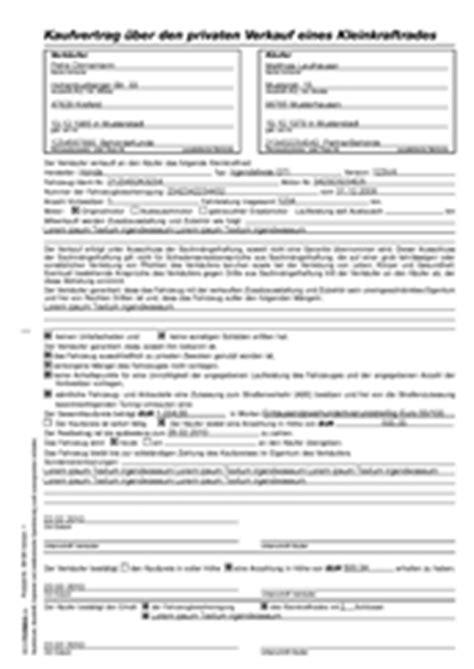 Kaufvertrag Motorrad Ausland by Bestform24