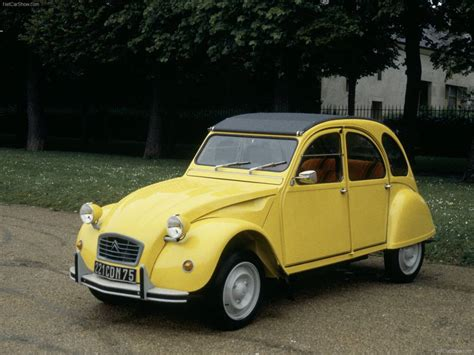 old citroen citroen 2cv classic iconic french car with small boxer