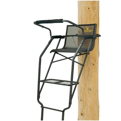 Rivers Edge Comfort Tree Seat by Rivers Edge Relax Wide 17 Ladder Tree Stand 667270