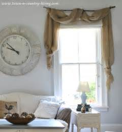 Country Valances Windows Simple Decorating Ideas On A Budget Town Amp Country Living
