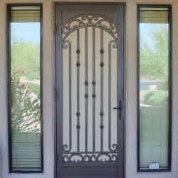 Security Doors Storm Doors Custom Iron Security Screen