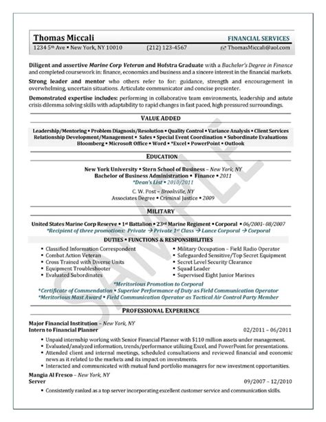 Resume Exles For Internship by Student Resume Exle Sle