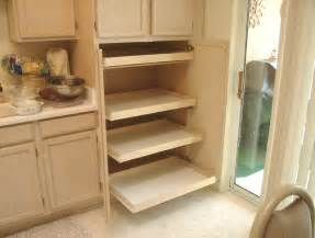 kitchen cabinets with slide out shelves monsterlune - pull out pantry cabinet smiuchin