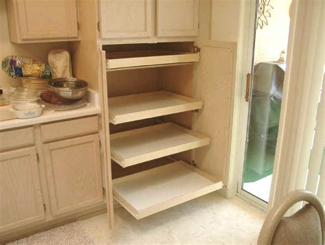 How To Build Pull Out Shelves For Kitchen Cabinets Kitchen Pantry Cabinet Pull Out Shelf Storage Sliding Shelves
