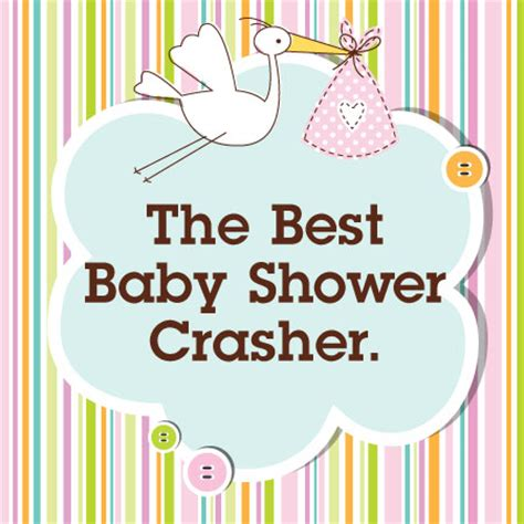 Not Showering For A Week by Best Baby Shower Crasher Hint It S The Baby
