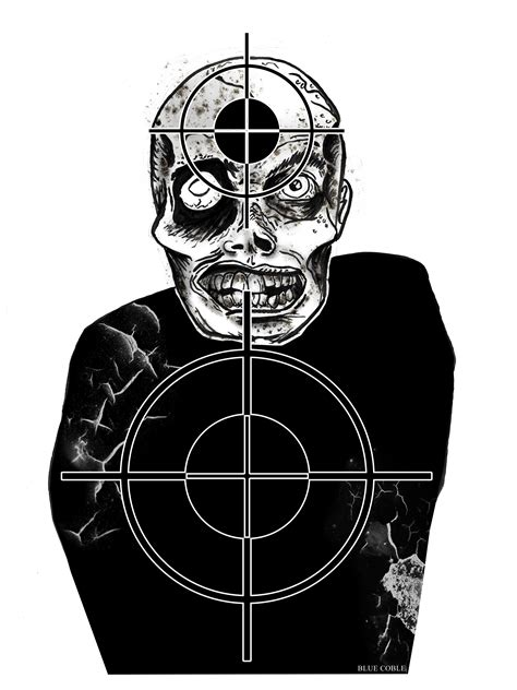 free printable shooting targets zombie free coloring pages of zombie target