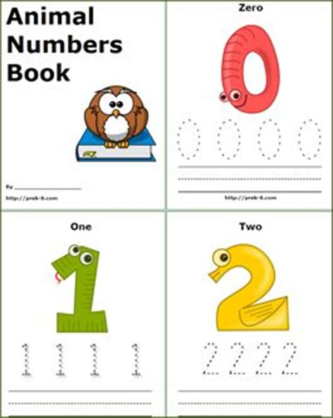 printable animal numbers 52 best images about elementary educational number