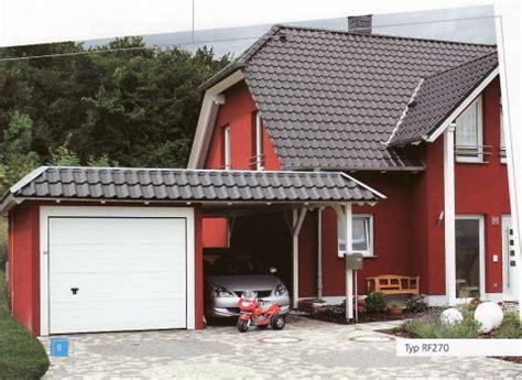 garage oder carport carport garage mit carport arnst 228 dter montage service ug