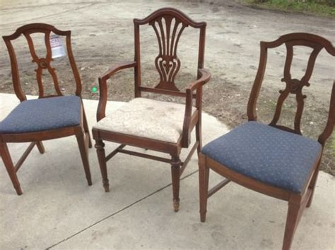 painted reupholstered dining chairs mix match